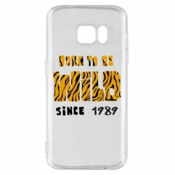 Чохол для Samsung S7 Born to be wild sinse 1989