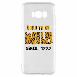 Чохол для Samsung S8 Born to be wild sinse 1989
