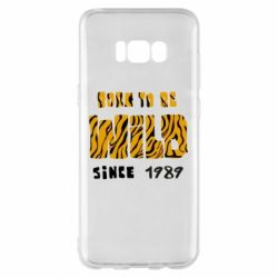 Чохол для Samsung S8+ Born to be wild sinse 1989