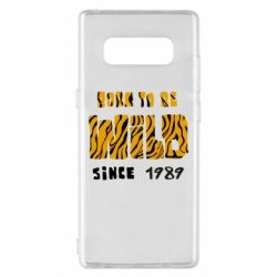 Чохол для Samsung Note 8 Born to be wild sinse 1989