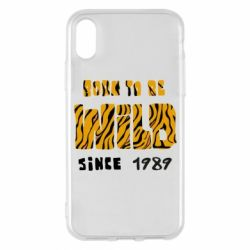 Чохол для iPhone X/Xs Born to be wild sinse 1989