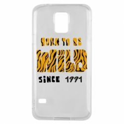 Чохол для Samsung S5 Born to be wild sinse 1991