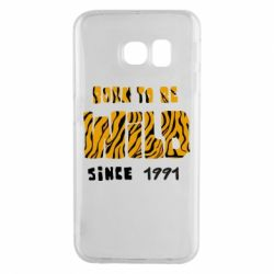 Чохол для Samsung S6 EDGE Born to be wild sinse 1991
