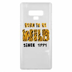 Чохол для Samsung Note 9 Born to be wild sinse 1991