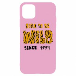 Чохол для iPhone 11 Born to be wild sinse 1991