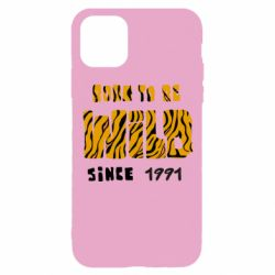 Чохол для iPhone 11 Pro Born to be wild sinse 1991