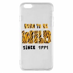 Чохол для iPhone 6 Plus/6S Plus Born to be wild sinse 1991
