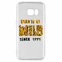 Чохол для Samsung S7 Born to be wild sinse 1991