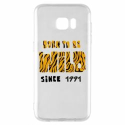 Чохол для Samsung S7 EDGE Born to be wild sinse 1991