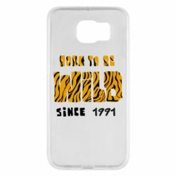 Чохол для Samsung S6 Born to be wild sinse 1991