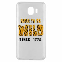 Чохол для Samsung J4 Born to be wild sinse 1992