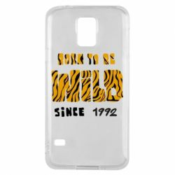 Чохол для Samsung S5 Born to be wild sinse 1992