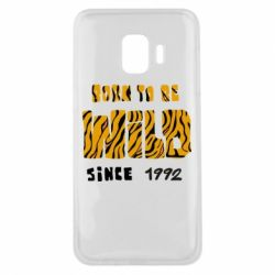 Чохол для Samsung J2 Core Born to be wild sinse 1992
