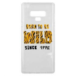 Чохол для Samsung Note 9 Born to be wild sinse 1992