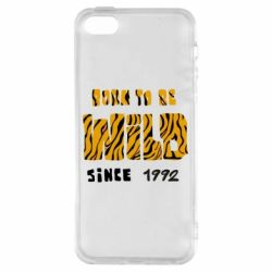 Чохол для iphone 5/5S/SE Born to be wild sinse 1992