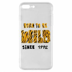 Чохол для iPhone 7 Plus Born to be wild sinse 1992