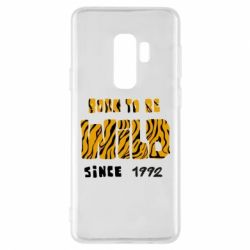 Чохол для Samsung S9+ Born to be wild sinse 1992