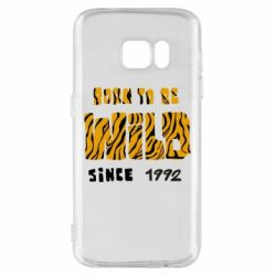 Чохол для Samsung S7 Born to be wild sinse 1992