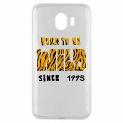 Чехол для Samsung J4 Born to be wild sinse 1995