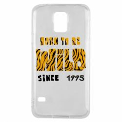 Чехол для Samsung S5 Born to be wild sinse 1995