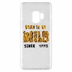 Чехол для Samsung S9 Born to be wild sinse 1995
