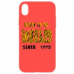 Чехол для iPhone XR Born to be wild sinse 1995