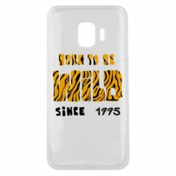 Чехол для Samsung J2 Core Born to be wild sinse 1995