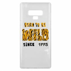Чехол для Samsung Note 9 Born to be wild sinse 1995