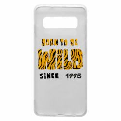 Чехол для Samsung S10 Born to be wild sinse 1995