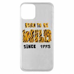 Чехол для iPhone 11 Born to be wild sinse 1995