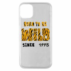 Чехол для iPhone 11 Pro Born to be wild sinse 1995
