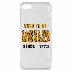 Чехол для iPhone5/5S/SE Born to be wild sinse 1995