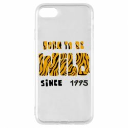 Чехол для iPhone 8 Born to be wild sinse 1995