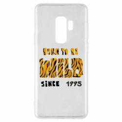 Чехол для Samsung S9+ Born to be wild sinse 1995