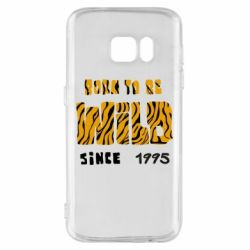 Чехол для Samsung S7 Born to be wild sinse 1995