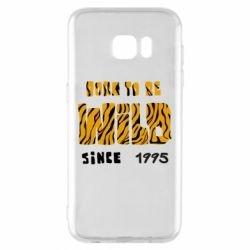 Чехол для Samsung S7 EDGE Born to be wild sinse 1995