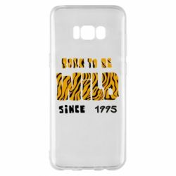 Чехол для Samsung S8+ Born to be wild sinse 1995