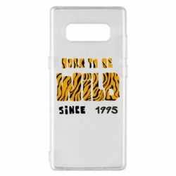 Чехол для Samsung Note 8 Born to be wild sinse 1995