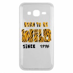 Чохол для Samsung J5 2015 Born to be wild sinse 1996