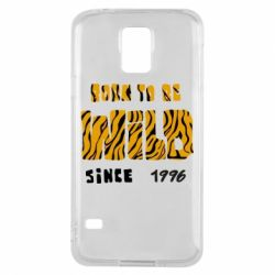 Чохол для Samsung S5 Born to be wild sinse 1996