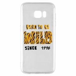 Чохол для Samsung S7 EDGE Born to be wild sinse 1996