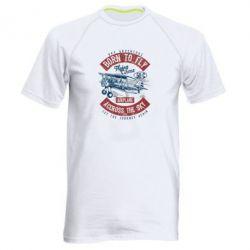 Чоловіча спортивна футболка Born To Fly