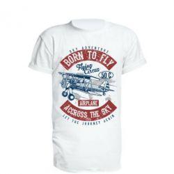 Подовжена футболка Born To Fly