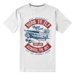 Чоловіча стрейчева футболка Born To Fly