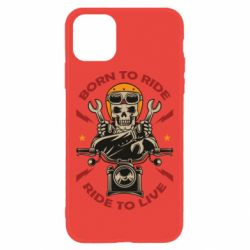 Чохол для iPhone 11 Born to ride, ride to live