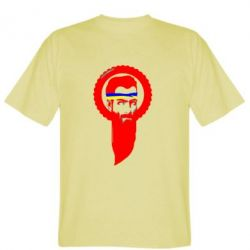 Мужская футболка Борода патріота - FatLine