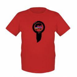 Детская футболка Борода патріота - FatLine