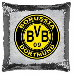 Подушка-хамелеон Borussia Dortmund