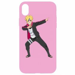 Чехол для iPhone XR Boruto dab
