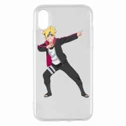 Чехол для iPhone X/Xs Boruto dab